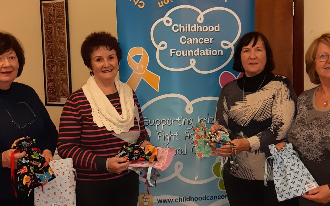 Marlay ICA offer bags of support for children with cancer